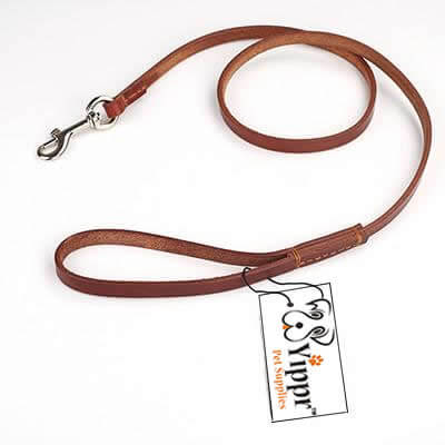 Yippr Leather Dog Leash