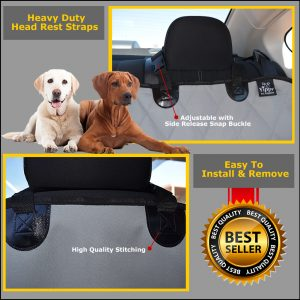 Seat Covers for Dogs Grey