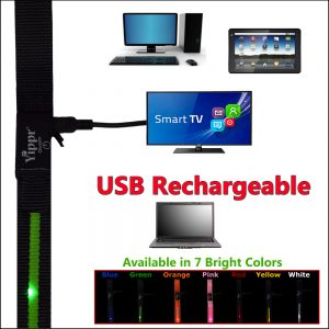 USB Rechargeable LED Leash