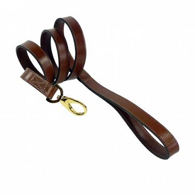 Brown Leather Leash