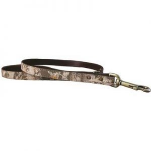 Camo Leather Leash