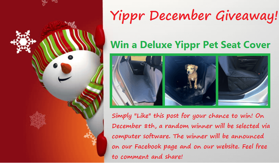 Yippr December Seat Cover Giveaway